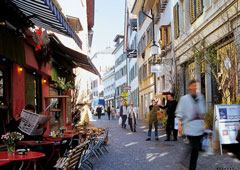 A stroll through Zurich's old town