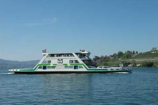 Boat trip to Rapperswil